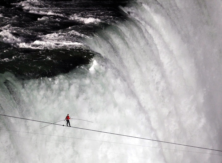 Tightrope Over a Looming Cliff