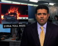 News Wrap: U.N. Reports 60,000 Dead in Syria Since Civil War Began Two Years Ago