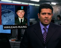News Wrap: Judge Says WikiLeaks Soldier Received Harsh Treatment After Arrest