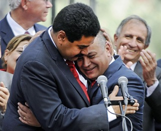 Click here to read more on Venezuela's vice president, Nicolas Maduro, and his loyalty to Hugo Chavez.