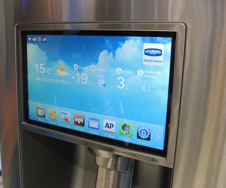 Touchscreen Fridges
