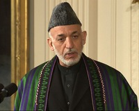 President Karzai Visits Washington to Discuss U.S. Future in Afghanistan