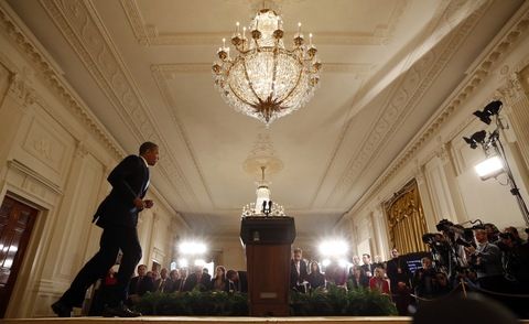 President Obama; photo by Jason Reed/Reuters