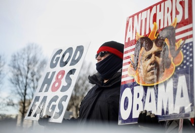 The Inauguration's Other Side: Activists Talk Back