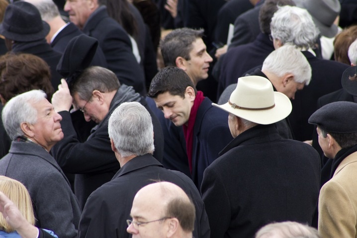 Paul Ryan Attends Inauguration