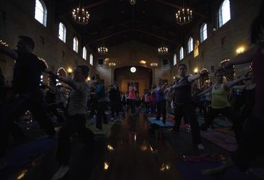 Politics and Poses: Yoga Ball 2013