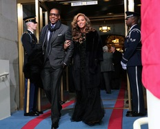 Beyonce Performs the National Anthem at President Obama's Inauguration
