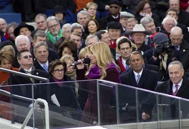 Familiar Faces at the Inauguration
