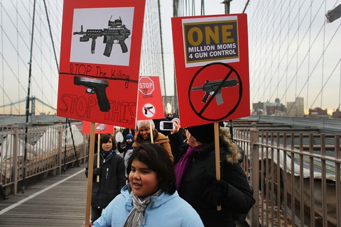 One Million Moms for Gun Control; photo by Spencer Platt/Getty Images
