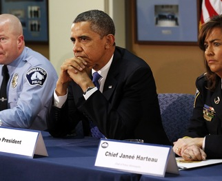 WATCH: President Obama Talks Gun Violence Prevention With Police Chiefs