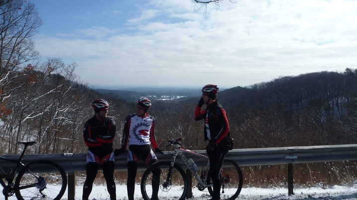 Rough Kentucky Winter Cycling