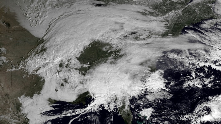 Satellites Show Storm Coming