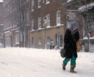 WATCH: Record-Breaking Blizzard Set to Blanket Northeastern States
