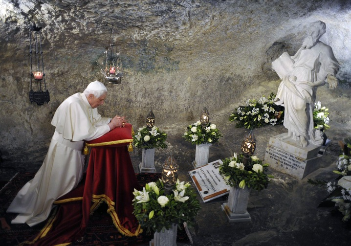 Grotto Prayer