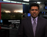 News Wrap: Dozens Hurt in Mississippi Tornado