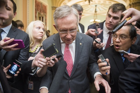 Senate Majority Leader Harry Reid; photo by Bill Clark/CQ Roll Call