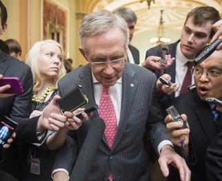 To Reid's Disgust, Senate Republicans Delay Vote on Hagel