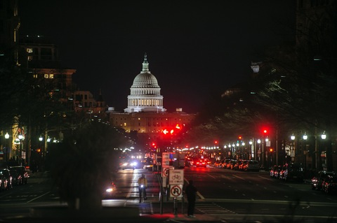 The U.S. Capitol; photo by Pete Marovich/Bloomberg via Getty Images