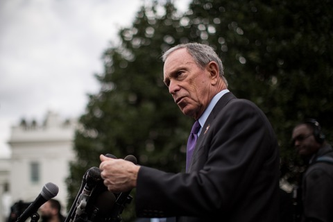 New York City Mayor Michael Bloomberg; photo by New York City Mayor Michael Bloomberg