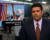 News Wrap: Nationwide Rallies Call on Congress to Reform Immigration Policy