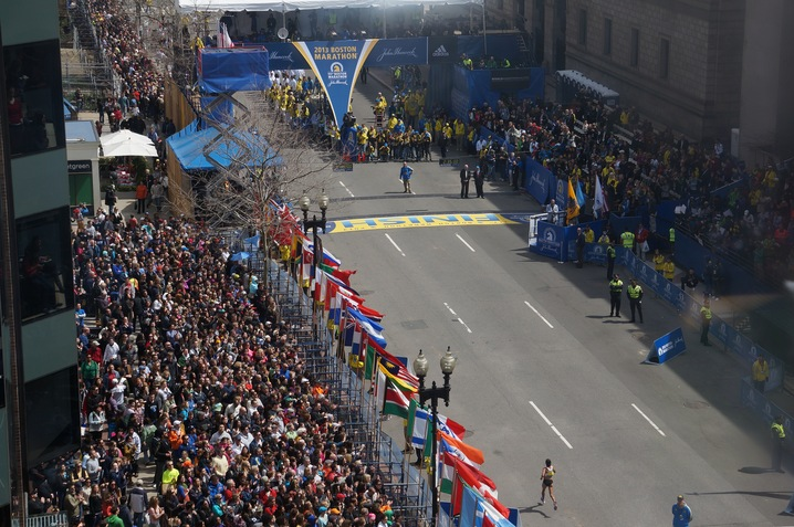 Boston Marathon at 117