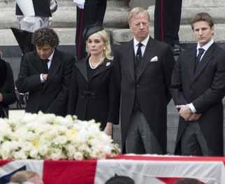Slide show: Thatcher's Funeral Brings Out Dignitaries and Protesters