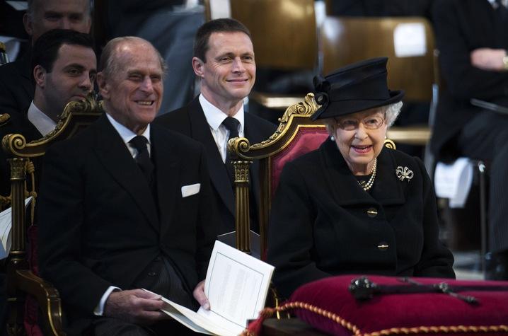 Queen Attends
