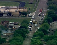 Fertilizer Plant Explosion Devastates Texas Town, Forces Residents to Evacuate