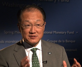WATCH: World Bank President: Climate Change Is Urgent 'Today' Problem