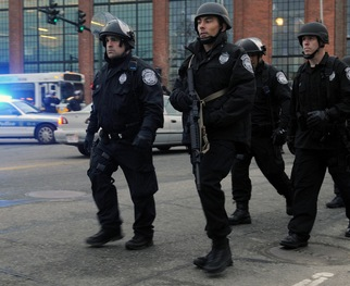 READ: With Manhunt Underway in Boston, Politics Pushed Aside
