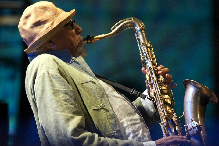 Charles Lloyd; photo by mpix46 via Flickr