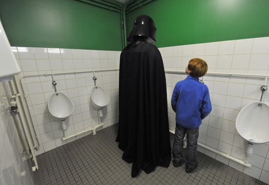 Star Wars convention; photo by Thierry Zoccolan/AFP/Getty Images