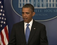 100 Days In, President Obama Holds News Conference on Second Term Priorities