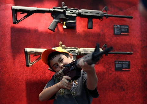 2013 NRA Annual Meeting and Exhibits; photo by Justin Sullivan/Getty Images