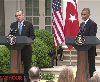 WATCH: Obama, Turkey's Erdogan Reaffirm Urgency of Ending Bloodshed in Syria
