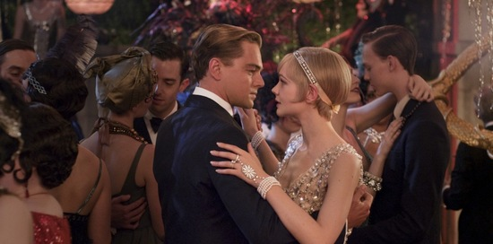 Leonardo DiCaprio and Carey Mulligan in