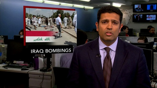 News Wrap: Series of Explosions in Iraq Stokes Fears of Sectarian Violence