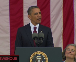WATCH: President Obama's Full Memorial Day Speech