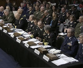 Click here to watch the Senate's Hearing on Sexual Assaults in Military