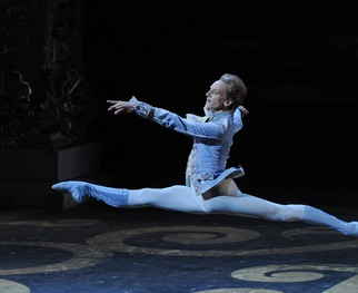 View behind-the-scenes photos of dancer David Hallberg.