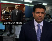 News Wrap: Defense Rests in Trayvon Martin Murder Trial