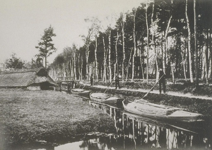 Row of Rowboats