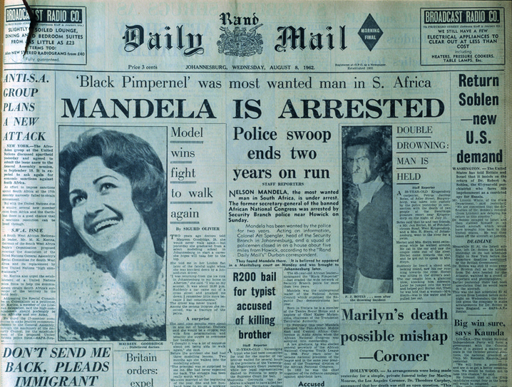 Mandela Arrested