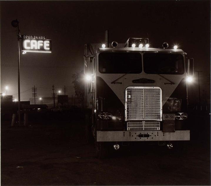 Truckstop, Highway 58, Calif,