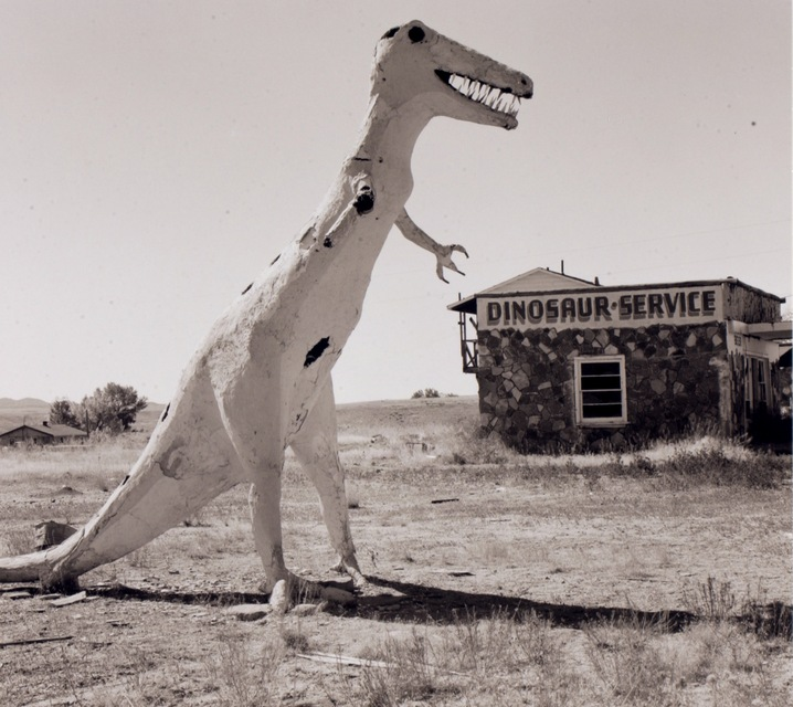 Gas station, Highway 40, Utah