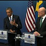 Arguing World Credibility at Stake, Obama Seeks Support for Syria Strike Abroad