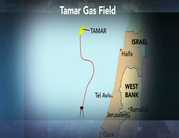 Tamar Gas Field