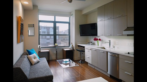 Living micro: Single residents embrace tiny apartments
