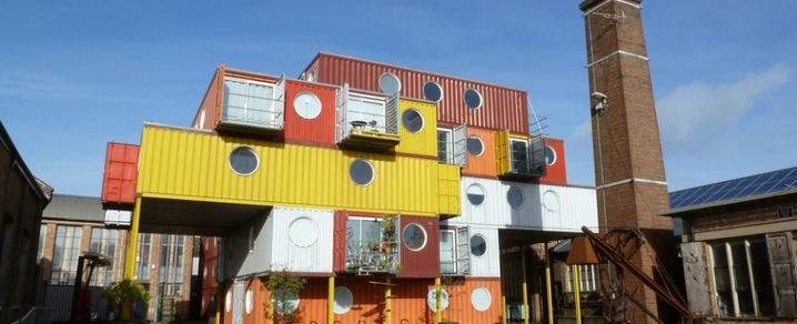 Living in Container City