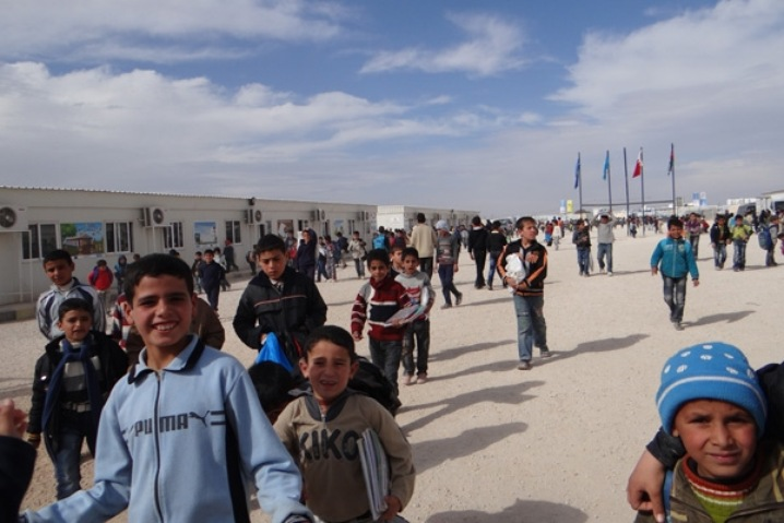 The Children of Zaatari Camp